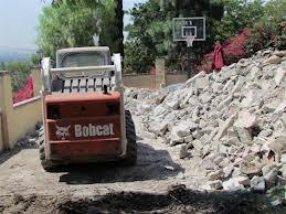 bobcat concrete removal