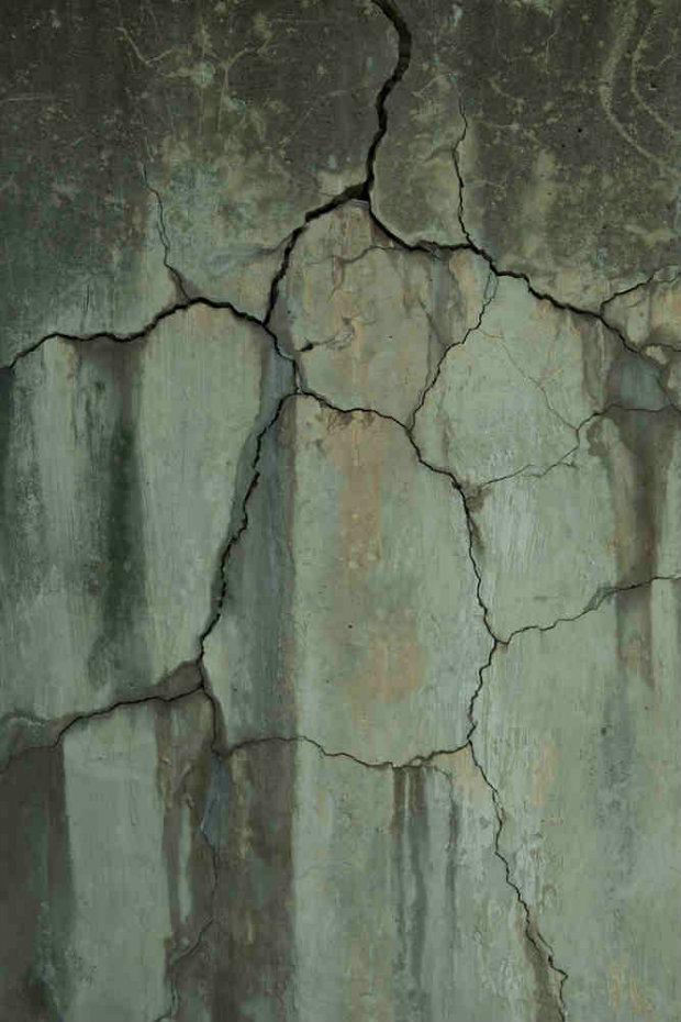 leaking wall