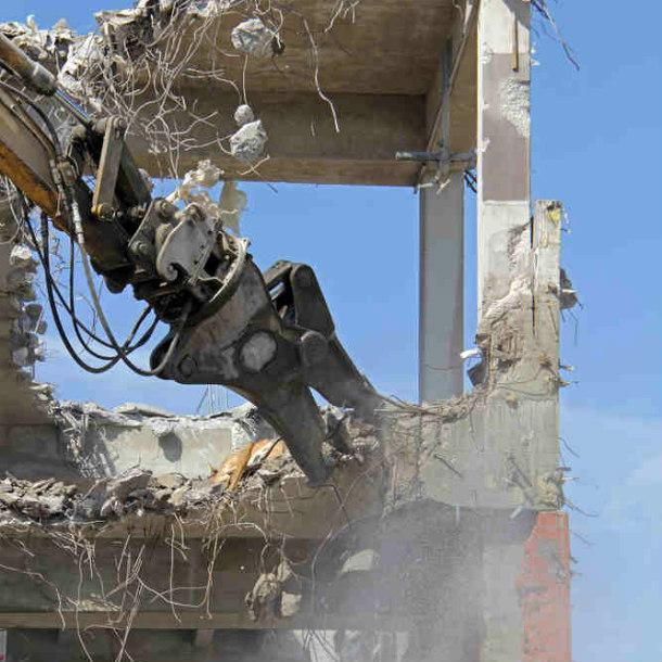 concrete building demolition
