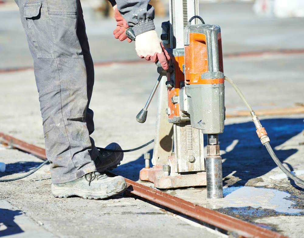 concrete drilling