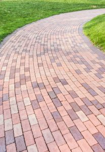 curved paver