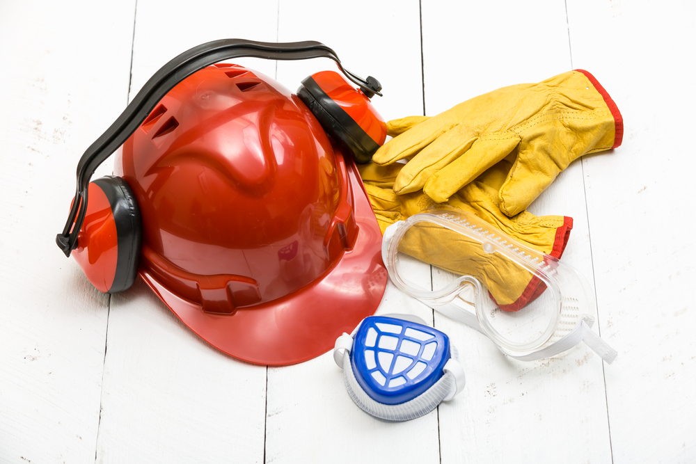 concrete safety gear