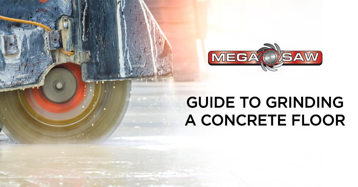 Grinding A Concrete Floor