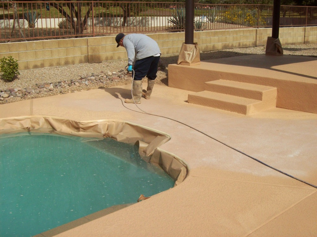 What is concrete resurfacing megasaw for Swimming pool resurfacing