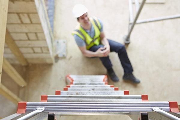 fallen from ladder