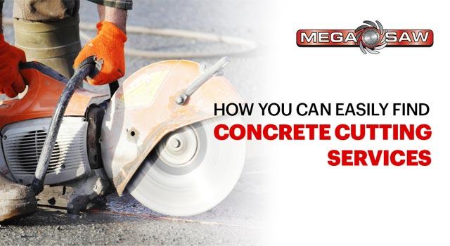 concrete cutting service