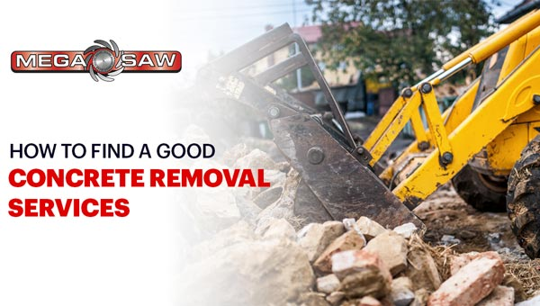 finding concrete removal service