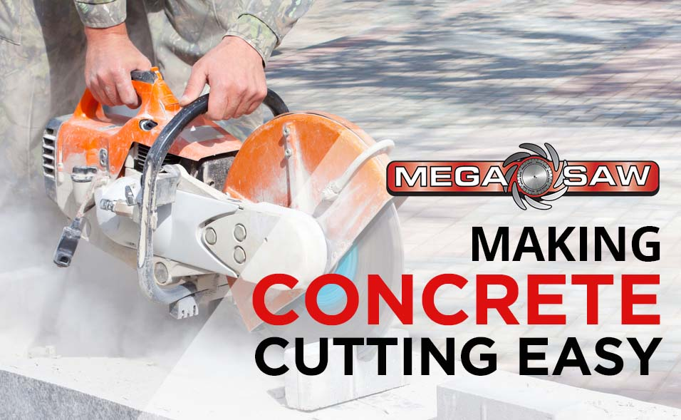 making concrete cutting east