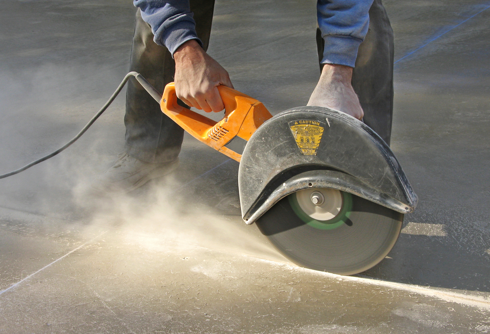 Cut Through Concrete Floor Without Cracking