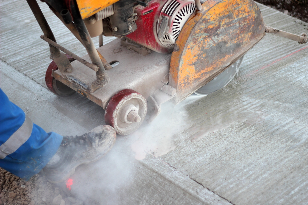 Concrete cutting purpose