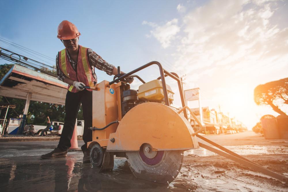 Benefits Road Saws Cut Concrete