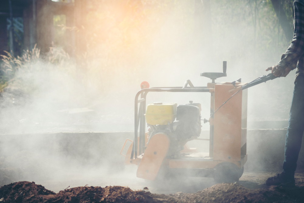 3 Ways Control Dust When Cutting Concrete