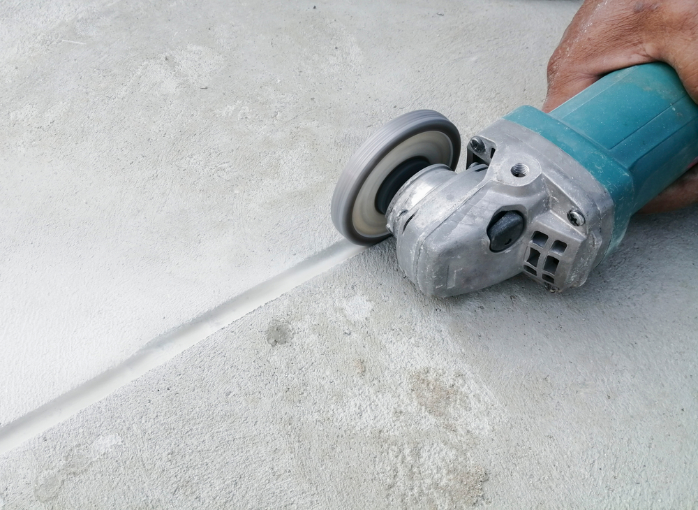 How To Cut Trench Concrete Slab